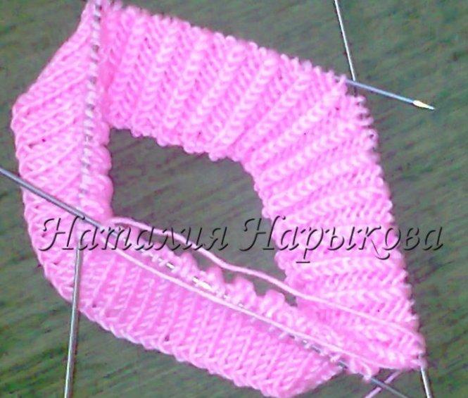 Статьи - МК по вязанию шапочки спицами - Вязание на заказ для детей